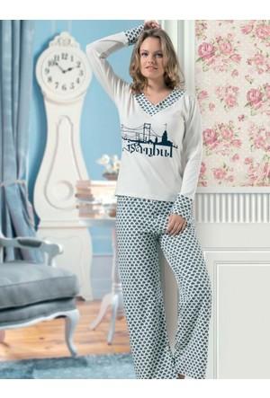 Derya Kurşun 777 Pijama Takım