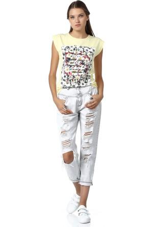 Dewberry Kadın T-Shirt Z4951