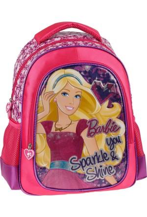 Barbie 86236 Mor Kız Çocuk Okul Çantası