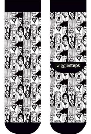 Wigglesteps People Kadın Çorap