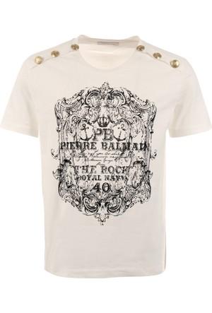 Pierre Balmain Erkek T-Shirt Hp66215Ta6285
