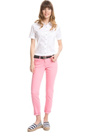 U.S. Polo Assn. Tinagl6Y Kadın Pantolon Pembe