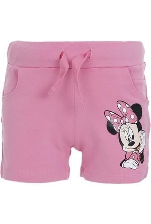 Disney Minnie Mouse Beli Lastikli Şort Pembe (9 Ay-7 Yaş)