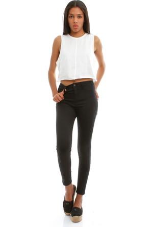 Collezione Kadın Siyah Pantolon UCB020897A41