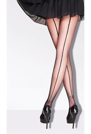 Daymod Kelebek Taş Desenli Külotlu Çorap