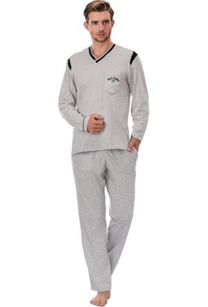 Kozalüks Erkek V Yaka Pijama