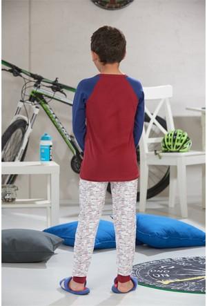 Zeyzey Baskılı Erkek Çocuk Pijama Takımı