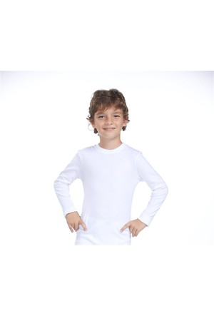 Zeyzey 2'Li Ribana Erkek Çocuk Uzun Kol T-Shırt