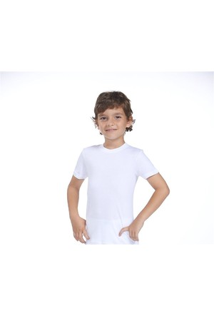 Zeyzey 2'Li Pamuklu Likralı Tişört
