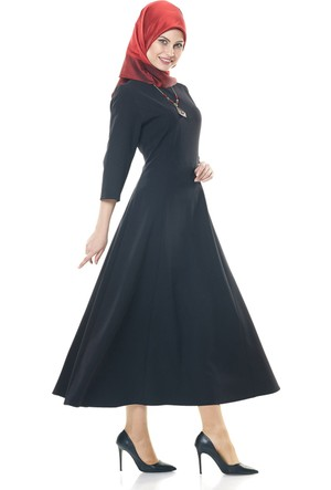 Soral Bayan Uzun Elbise