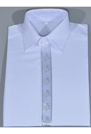 Glory Tekstil Sünnet Gömleği Beyaz