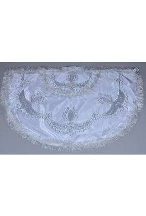 Glory Tekstil Sünnet Pelerini Prens Model Beyaz-Gümüş