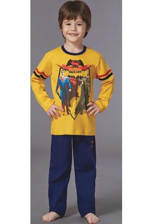 Batman Erkek Çocuk Pijama Takımı