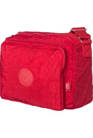 Barcelona Çapraz Çanta Brc1034-0082 Kırmızı
