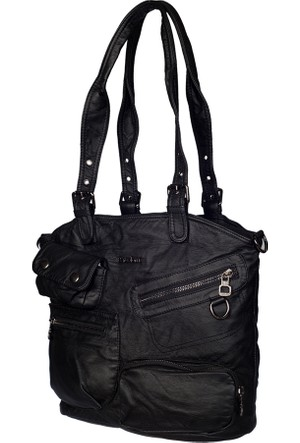 Barcelona Omuz Çantası Brc1612-0001 Siyah