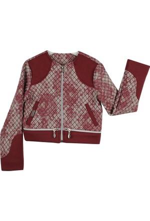 Badi Junior Kız Baklava Des. Ceket