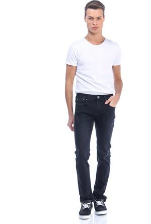 Collezione Erkek Kot Pantolon Uslar Siyah