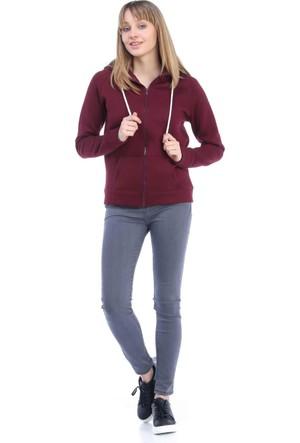 Collezione Kadın Sweatshirt Yoga Bordo