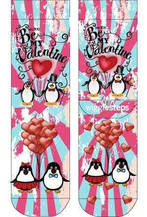 Wigglesteps Be My Valentine Kadın Çorap