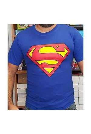 Furkan Store Superman Tshirt Slim Fit Xl
