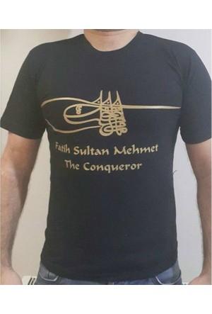 Furkan Store Fatih Sultan Mehmet Tişört X Large
