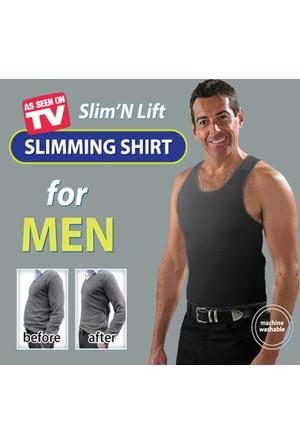 Slim N Lift Atlet Tipi Dikişsiz Erkek Korse XXXL (3XL)