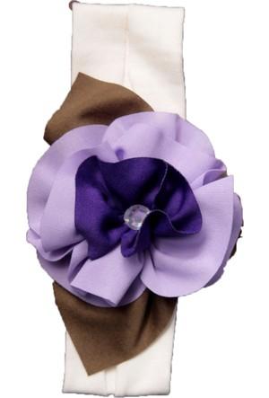 Babygiz Çiçek Aksesuarlı Bandana