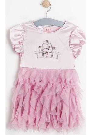 Soobe Disney Princess-2 Kısa Kol Elbise Pembe (2-7 Yaş)