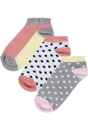 Soobe Kız Çocuk Çorap Set Koyu Pembe 35/38