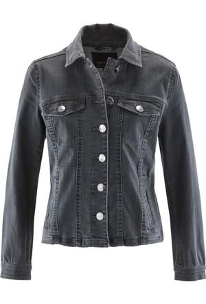 Bpc Selection Kadın Gri İtalyan Yaka Ceket