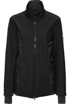Bpc Bonprix Collection Kadın Siyah Yelekli Fonksiyonel Softshell Sweatshirt