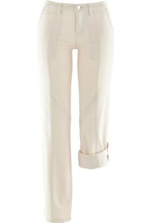 Bpc Bonprix Collection Kadın Gri Kargo Pantolon
