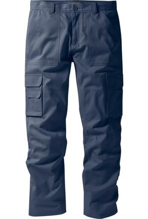 Bpc Selection Erkek Mavi Kargo Cepli Pantolon