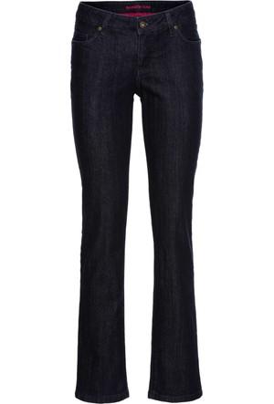 Rainbow Kadın Kadın Mavi Slim Jean Pantolon