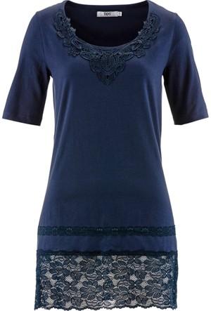 Bpc Bonprix Collection Mavi Uzun Bluz