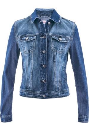 Bpc Bonprix Collection Jean Ceket Maite Kelly Tasarımı Mavi
