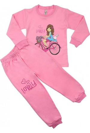 Modakids Kız Çocuk Pijama Takımı 019-1657-021