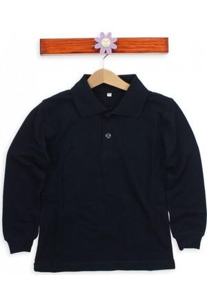 Modakids Uzun Kol Lacivert Okul Sweatshirt 019-9511-012