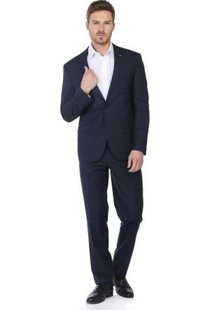 Comienzo Wiscon Klasik Kareli Takım Elbise 10658