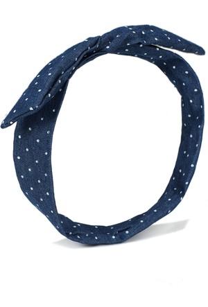 Mavi Kadın İndigo Mavi Saç Bandı