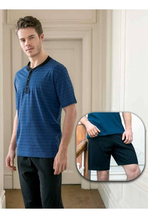 Yeni İnci Erkek 3'lü Pijama Takım