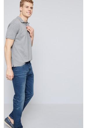 U.S. Polo Assn. Erkek Almeida Kot Pantolon Mavi