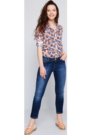 U.S. Polo Assn. Kadın Ceyline-O Kot Pantolon Mavi
