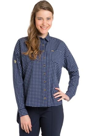 U.S. Polo Assn. Kadın Halun Gömlek Lacivert