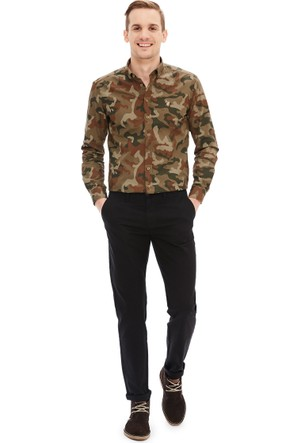 U.S. Polo Assn. Erkek Kr016S-Ing Pantolon Siyah