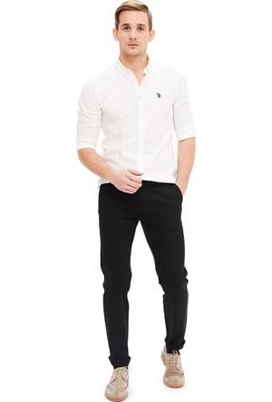 U.S. Polo Assn. Erkek Krl016S-Ing Pantolon Siyah