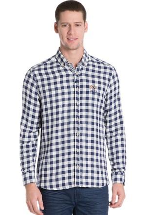 U.S. Polo Assn. Erkek Saund16K Gömlek Lacivert