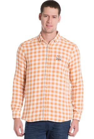 U.S. Polo Assn. Erkek Saund16K Gömlek Sarı