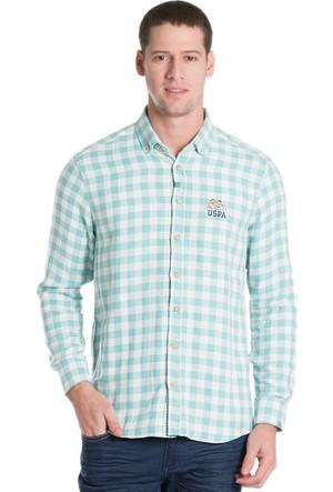 U.S. Polo Assn. Erkek Saund16K Gömlek Yeşil