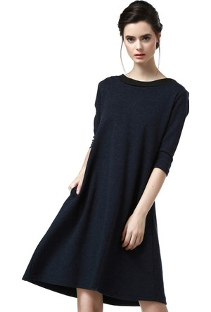 Quincey Kadın Lacivert Elbise Eb2 5